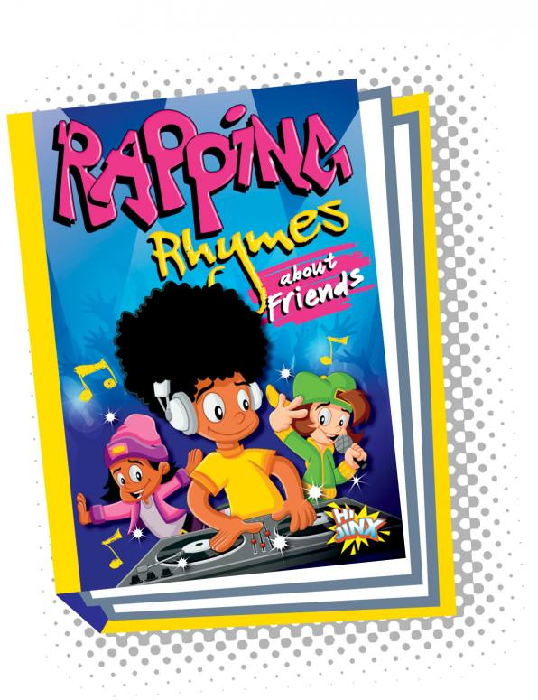 Rapping Rhymes about Friends (Paperback)