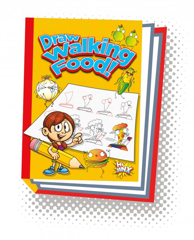 Draw Walking Food!