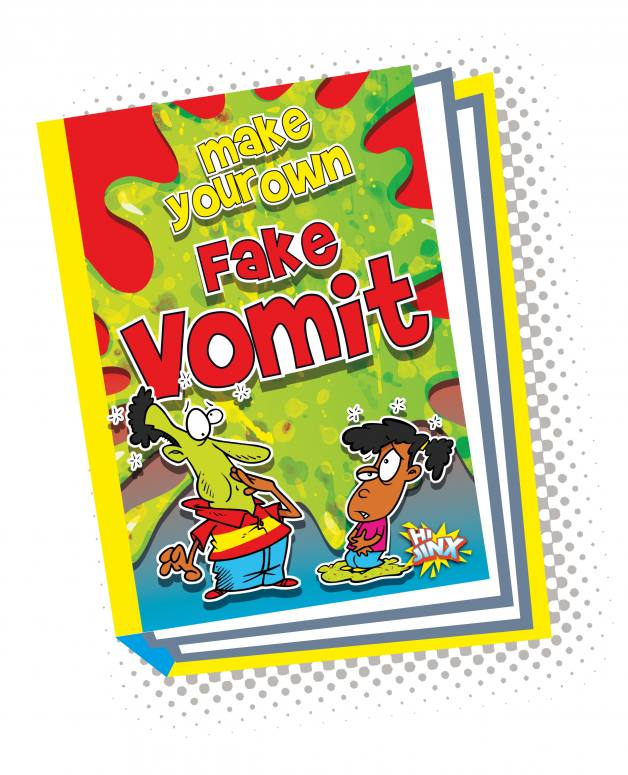 Make Your Own Fake Vomit (Paperback)